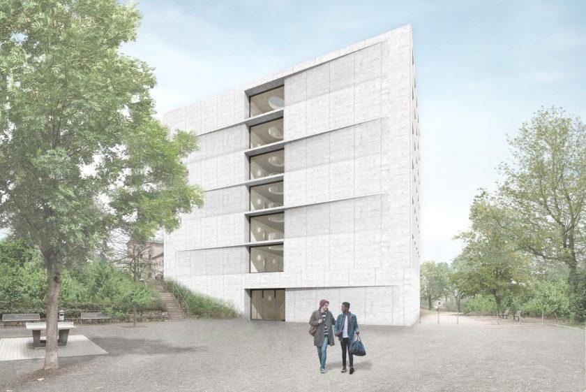 DAS 100 · Studentenwohnheim